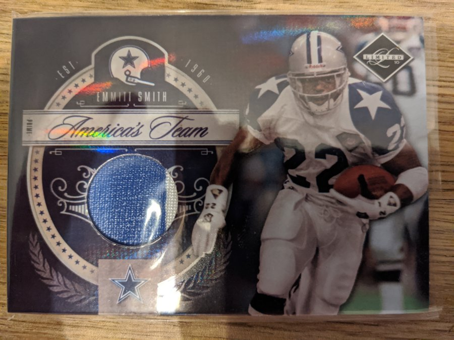 2010 Limited America's Team Emmitt Smith /25